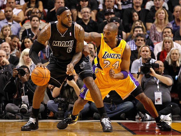 LeBron James considers Kobe Bryant's teammates (Getty Images)