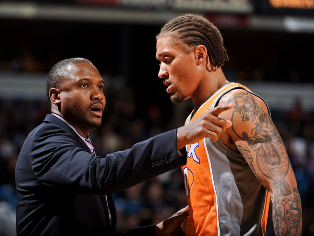 "Nothing says ""tanking"" like minutes for Michael Beasley (Getty Images)"