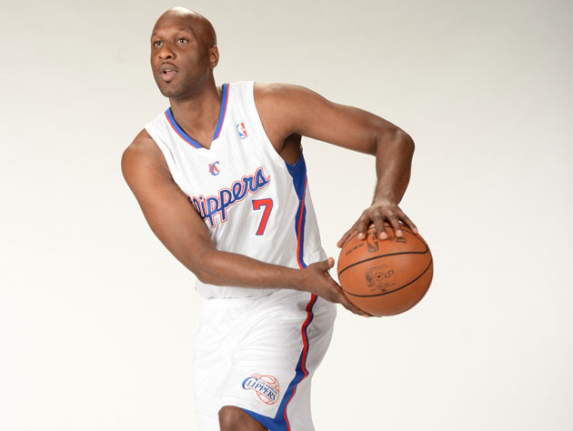Lamar Odom's conditioning, in his own words, 'could be better' (Getty Images)
