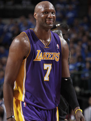 Lamar Odom at his peak, 22 months ago (Getty Images)