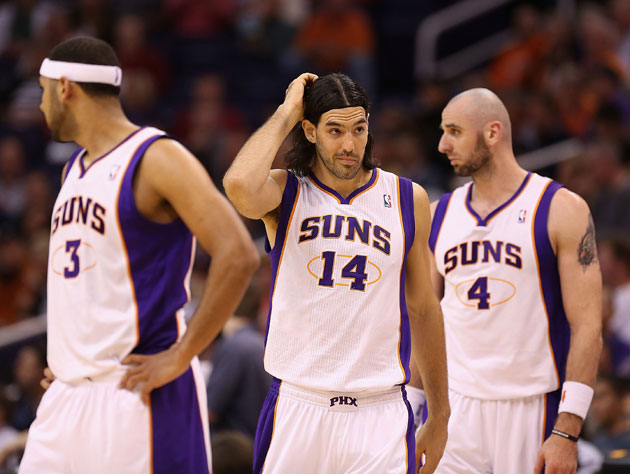 Luis Scola feels out of place (Getty Images)