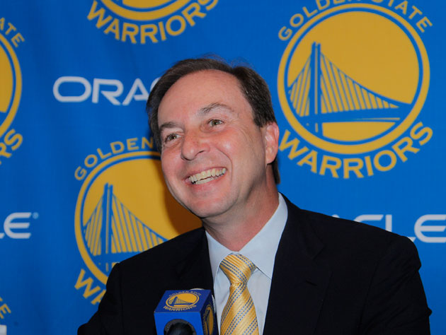 Joe Lacob is not Fred Stoller, he swears (Getty Images)