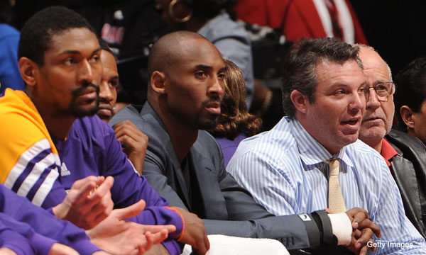 Ron Artest, Kobe Bryant (Getty Images)