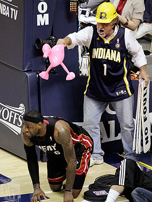 LeBron James' nightmares are real. (AP)