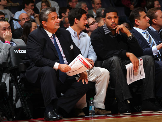 Ted Leonsis takes in his Washington Wizards (Getty Images)