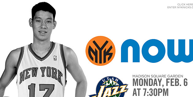 Jeremy Lin, now selling tickets (Courtesy NBA.com/Knicks)