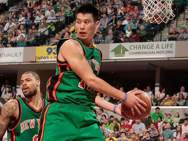 Jeremy Lin, looking for comfort, reliability, safety, and teammates on the break (Getty Images)
