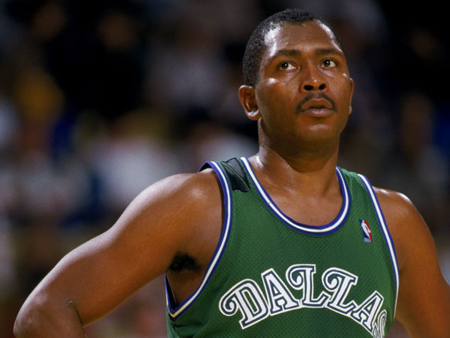 Mark Aguirre can probably hear Mark Cuban from where he's standing (Getty Images)