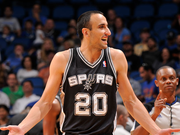Manu Ginobili searches for answers (Getty Images)