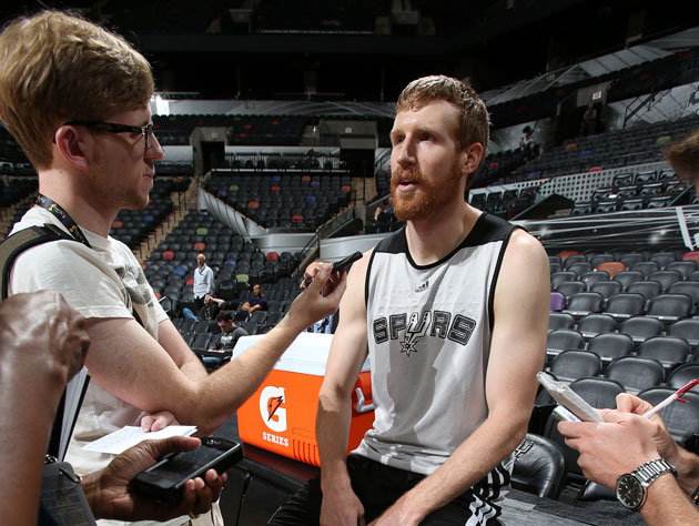 Matt Bonner has definitely served his kids kale (Getty Images)