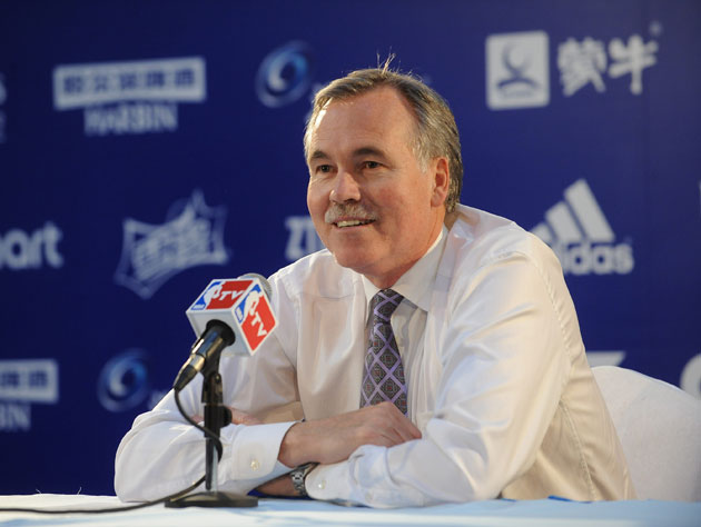 Mike D'Antoni, one day at a time (Getty Images)