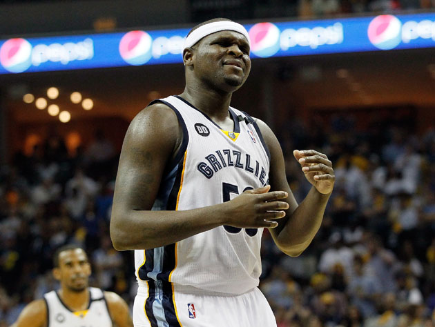 Zach Randolph found little to enjoy in the Western Conference finals (Getty Images)
