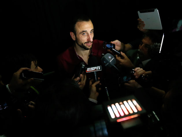 Why wouldn't Manu Ginobili want to return to all this? (Getty Images)
