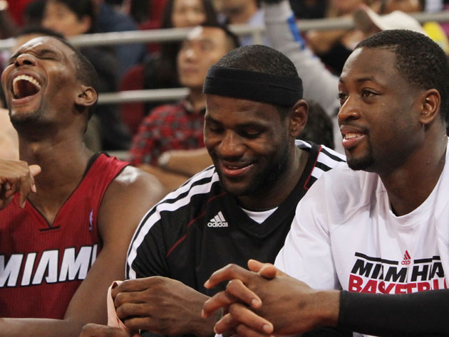 The Miami Heat wait out autumn, winter ... most of spring (Getty Images)