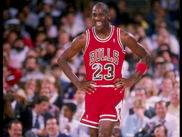 Michael Jordan, in 1989 (Getty Images)
