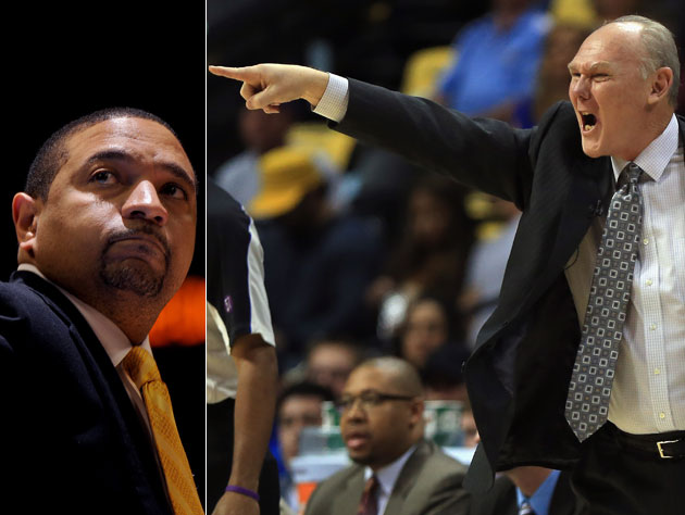Mark Jackson and George Karl have made themselves the story (Getty Images)