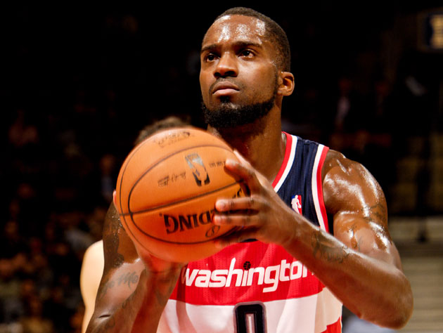 Martell Webster is pretty sure the maid accidentally knocked the keys behind the dresser (Getty Images)