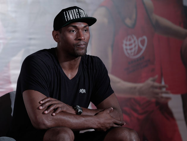 Metta looks pensive at a charity event in China in June (Getty Images)