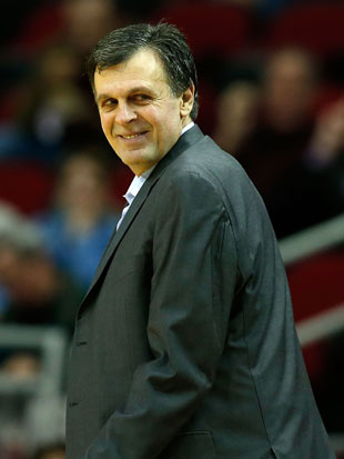 Rockets coach Kevin McHale (Getty Images)
