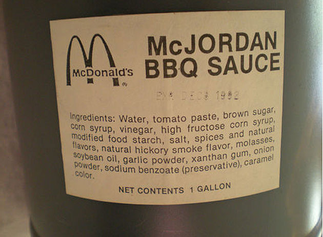 Your sauce, sir (Courtesy eBay)