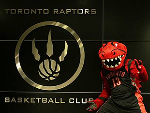Meet Stripes. (Photo via Raptors.com)