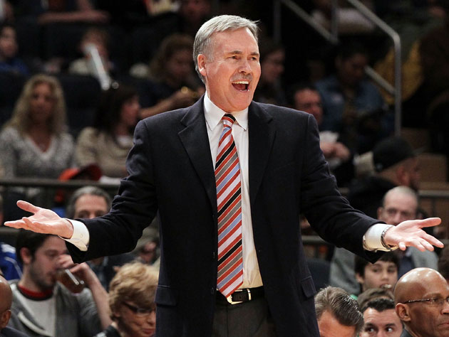 Mike D'Antoni wants to know if you're yankin' his chain. (Getty Images)