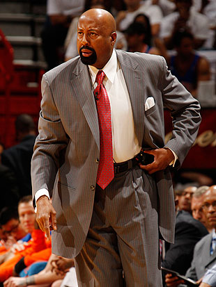 Mike Woodson is expected to return as New York's head coach. (Getty Images)