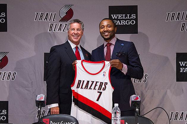Mo Williams says he'll be a 'sixth starter' for the Blazers. (Sam Forencich/NBAE/Getty Images)