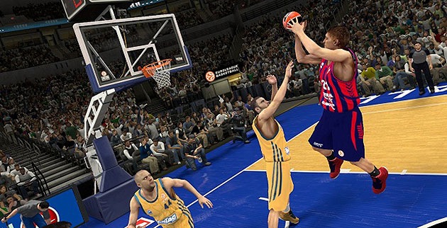 'NBA 2K14' players will be able to choose from 14 Euroleague teams. (Screenshot via www.euroleague.net)