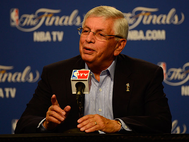 NBA Commissioner David Stern. (Getty Images)