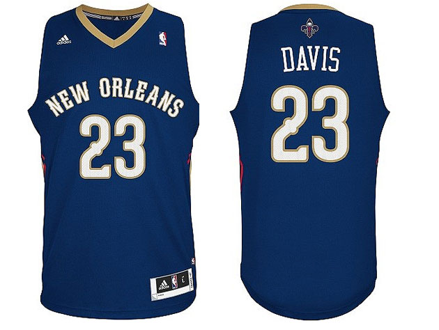 The Pelicans' road uniforms (Courtesy NBA.com/Pelicans)