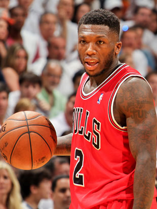 Nate Robinson could be guarded by LeBron James in Game 2 (Getty Images)