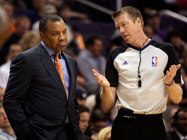 Not bad, thought Phoenix Suns coach Alvin Gentry. Not bad at all. (AP/Rick Scuteri)