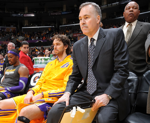Pau Gasol and Mike D'Antoni prepare for a whole lot of running (Getty Images)