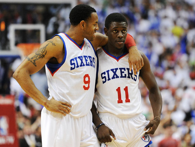 Andre Iguodala and Jrue Holliday consider their comeback (Getty Images)