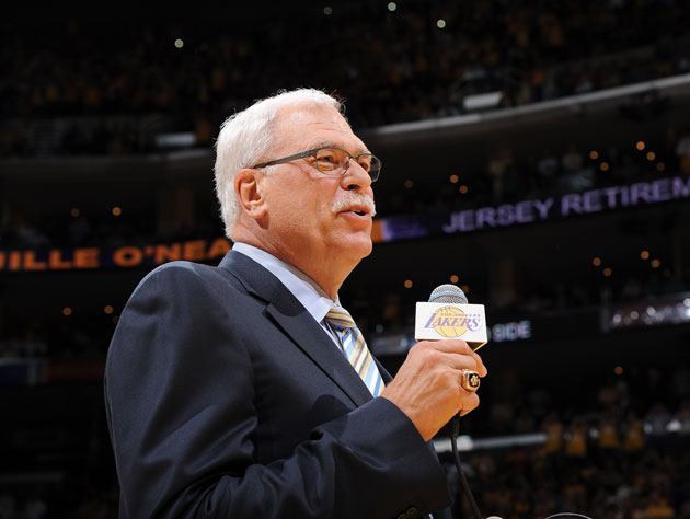 Phil Jackson is looking for a booming front office voice (Getty Images)