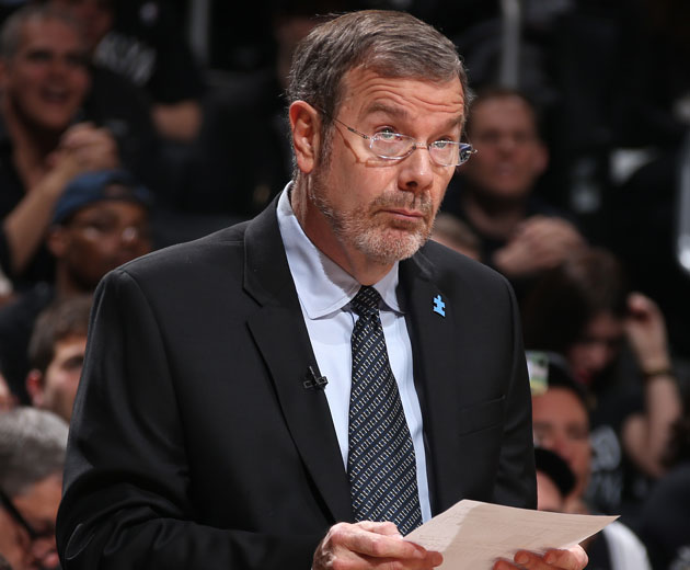 P.J. Carlesimo keeps calm and carries wait they have more offensive rebounds than us?!? (Getty Images)
