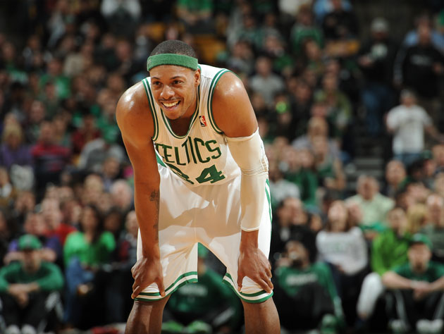 Paul Pierce, all smiles (Getty Images)