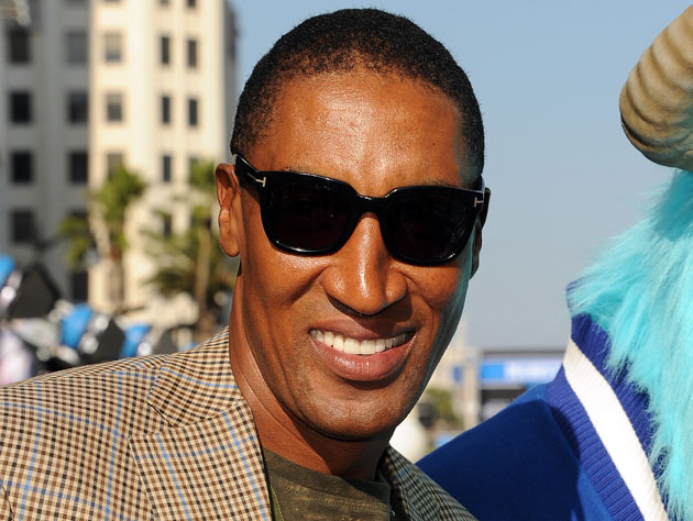Scottie Pippen at a movie premiere earlier in June (Getty Images)