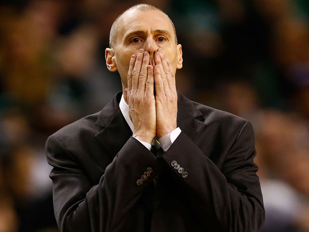 Rick Carlisle is out of answers (Getty Images)