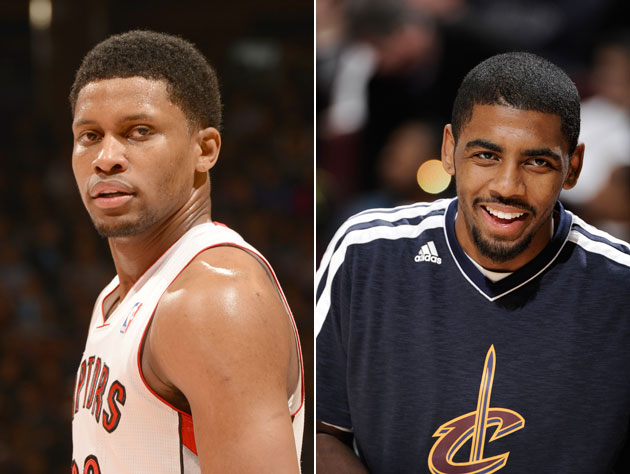 Rudy Gay and Kyrie Irving (Getty Images)