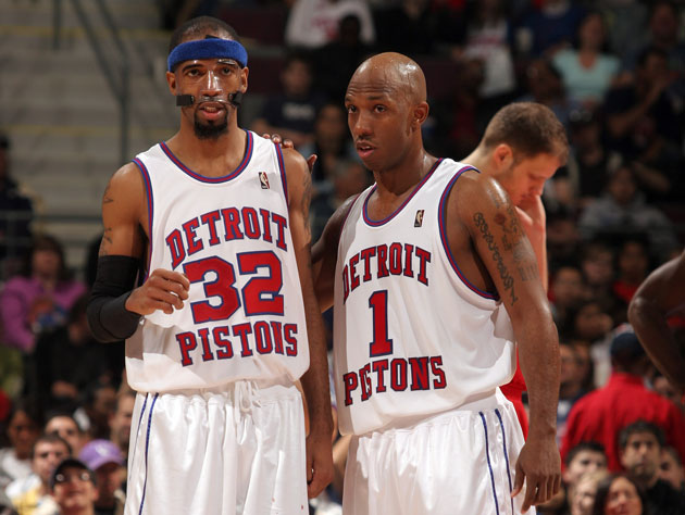 Rip and Chauncey remind each other that it's just a business (Getty Images)