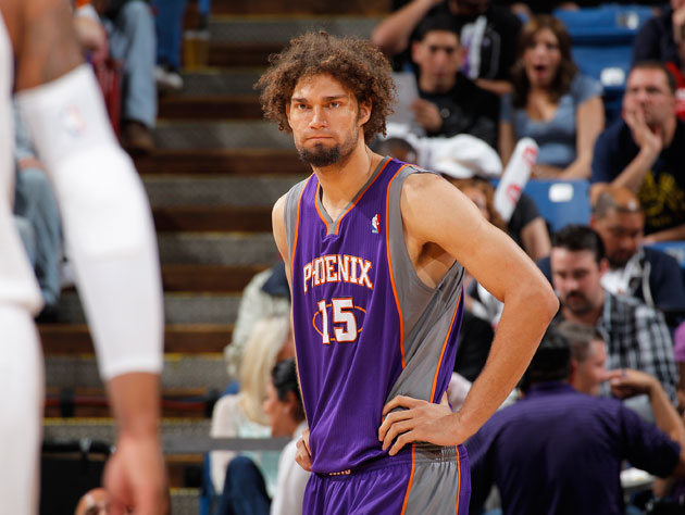 Robin Lopez stares straight into the face of an uncertain future. (Getty Images)