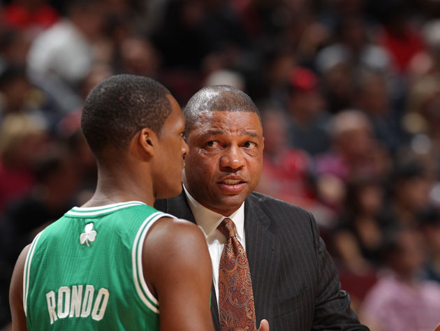 Rajon Rondo and Doc Rivers discuss numbers that matter (Getty Images)