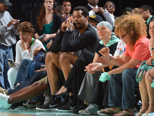 Rasheed Wallace wonders what it would be like on the other side of the court (Getty Images)