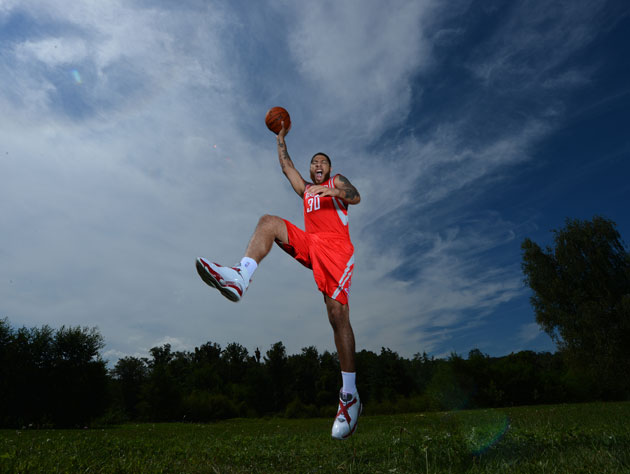 Royce White gets out for some air (Getty Images)