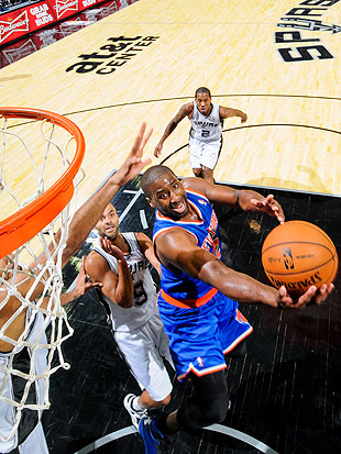 Raymond Felton wreaked havoc with his penetration on Thursday night. (Getty Images)