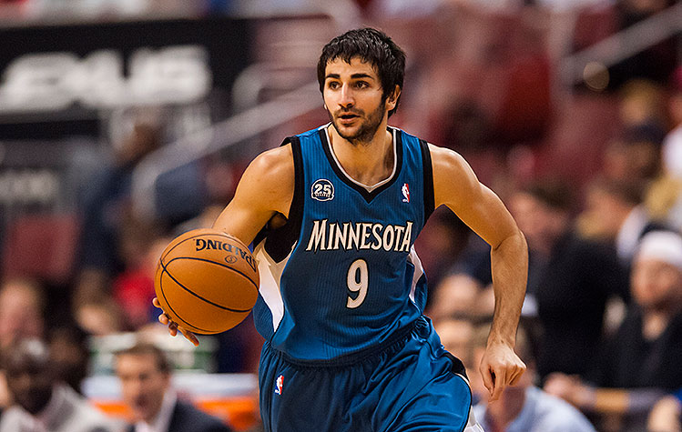 Ricky Rubio earned a  million dollar salary, leaving the net worth at 8 million in 2017