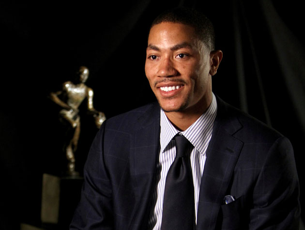 Derrick Rose can now see Bolingbrook from his living room (Getty Images)