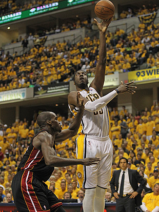 Roy Hibbert's about to take an important trip. (Getty Images)